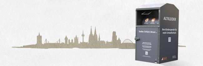 Altkleidersammlung Awb Köln